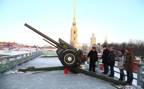 Полуденный выстрел в день 205-летия ПГУПС.JPG